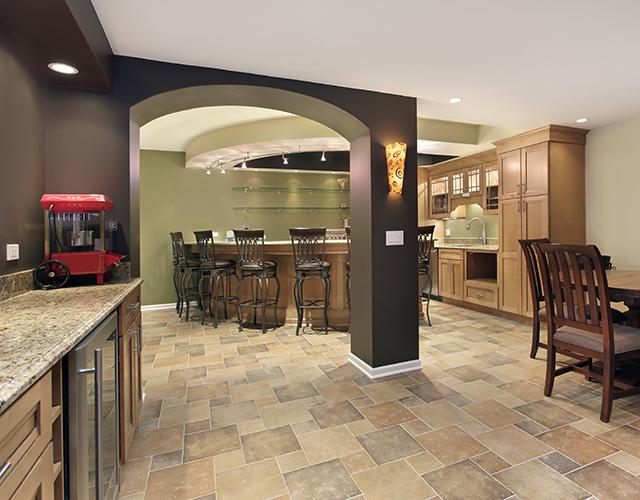 LCM finished basement renovation