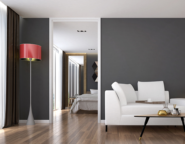 Wood floor in Kitchener Condominium by LCM