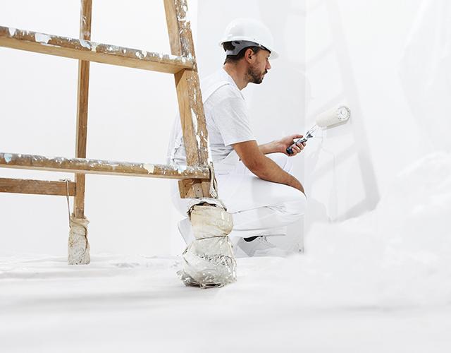 LCM Painter hard at work